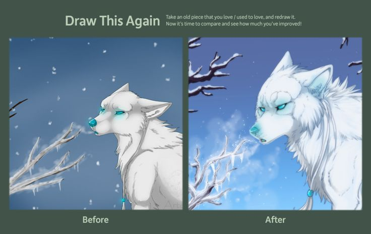 draw this again - cold breath by Azzai deviantart comCold Breath In Winter