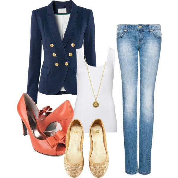 Blazer Outfit, created by skearchambeau on Polyvore