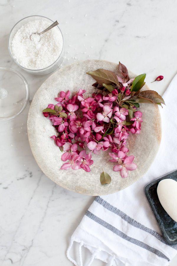 Cherry blossom bath salts by Ali Harper