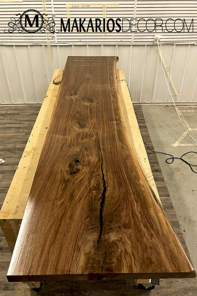 Wood Slabs For Your Home Built By Makarios Decor Wood Slab Live