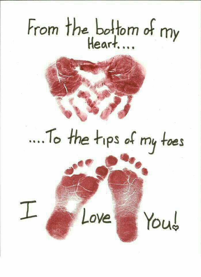 1st Father's Day newborn prints