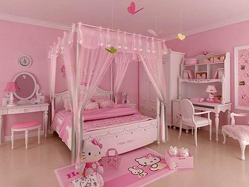 Hello Kitty Bedroom : hello kitty bedroom more girl room kids bedroom girls bedroom kid s ...