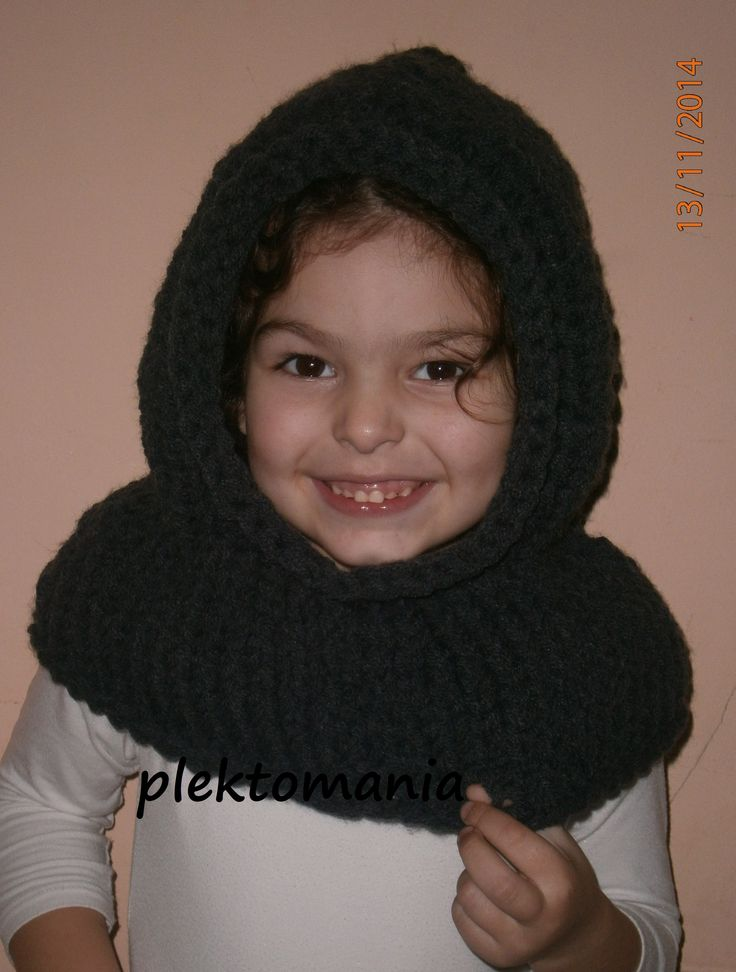 crochet full face  scarf and hat https://www.facebook.com/plektomania25