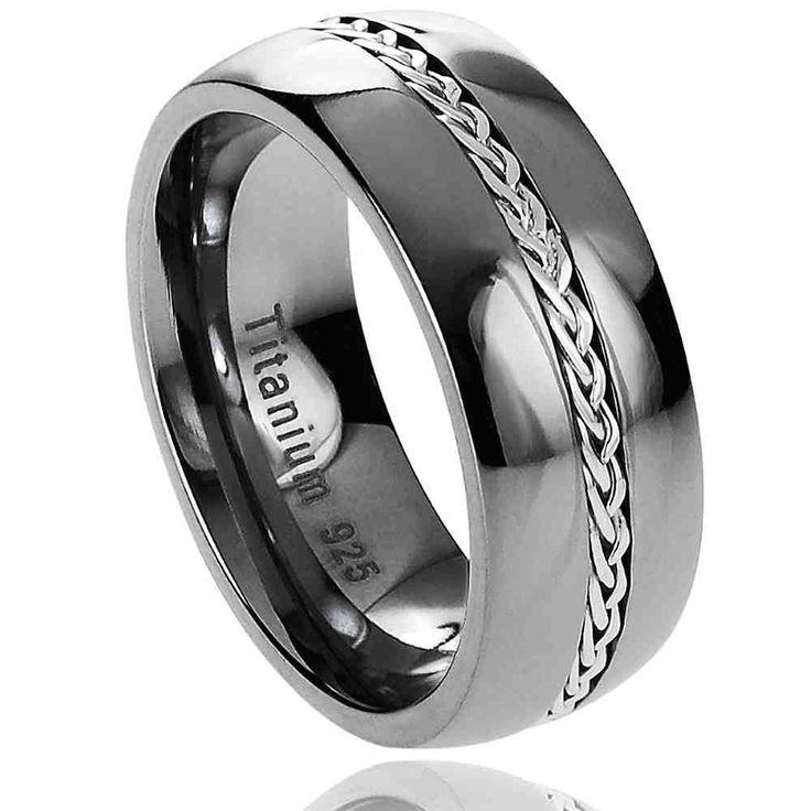 best 25 black titanium wedding bands ideas on pinterest