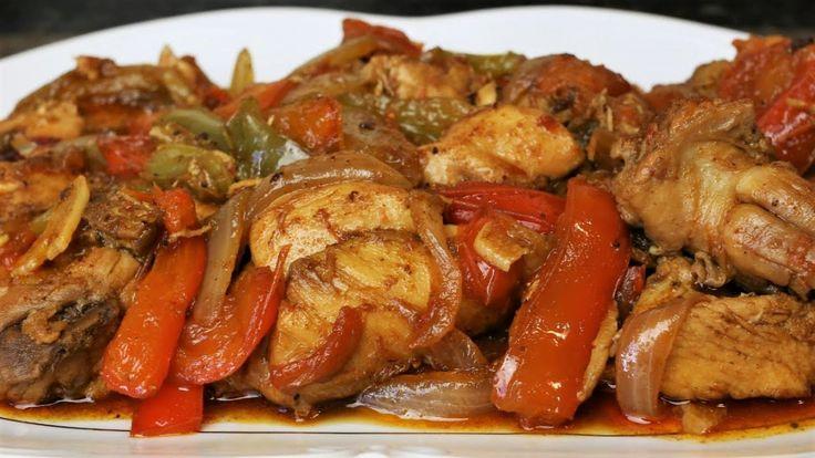 Pollo con pimientos - Una receta fácil y deliciosa