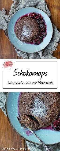 Schokomops – Kuchen aus der Mikrowelle