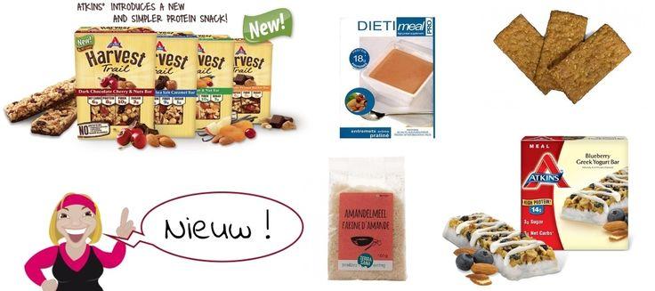 Nieuwe dieet producten bij Afvallen met Bregje