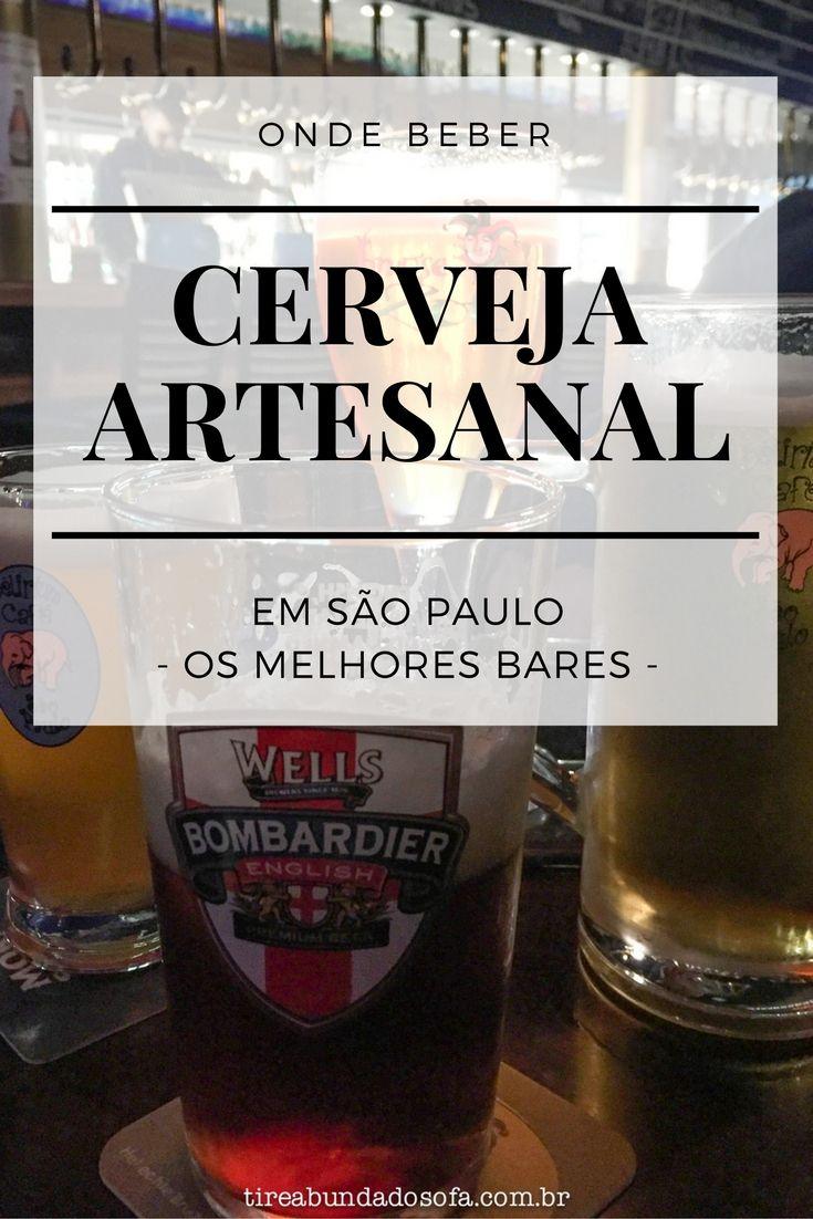 Onde beber cerveja artesanal em São Paulo. Os melhores bares de São Paulo para encontrar cervejas especiais, incluindo o Delirium Café e muito mais! #saopaulo #viagem #bar #cerveja #cervejaartesanal #sp #brasil #brazil