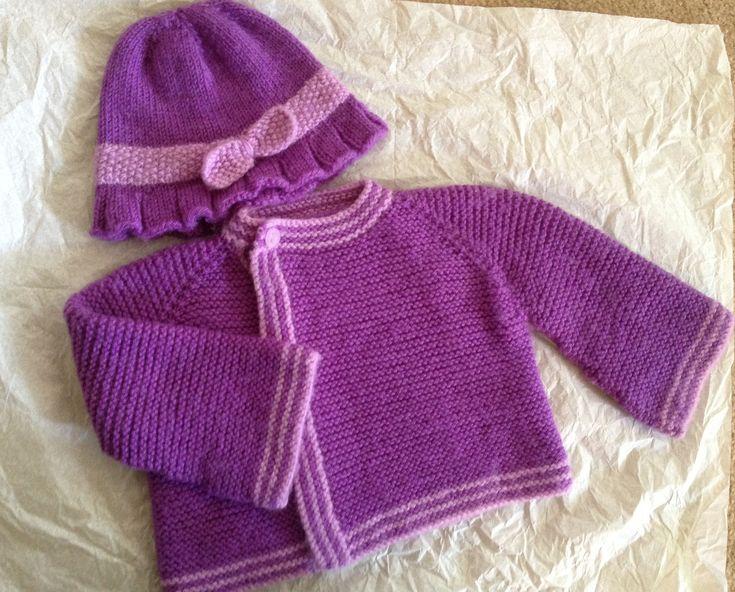 Ravelry: Garter Stitch Cardigan pattern by Brandy Fortune ...