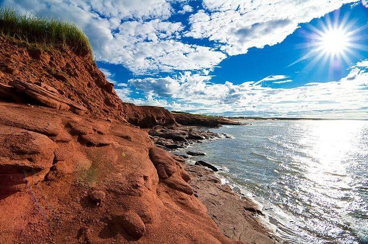 Parc national de l'Île-du-Prince-Édouard Épinglée par Stéphane de La WebBox #lawebbox #creationdeblog