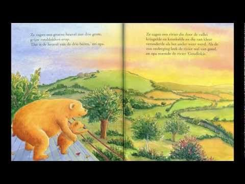 Opa en kleine beer, digitaal prentenboek voor kleuters