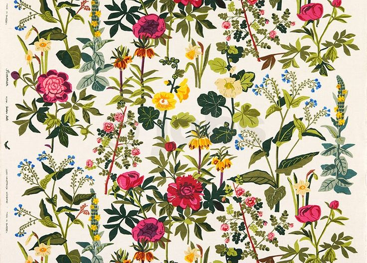 Sommar (natural) - Design: Gocken Jobs (1954) http://www.jobshandtryck.se