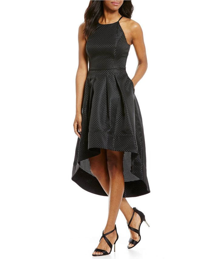 Shop for Aidan Aidan Mattox High-Low Halter Dress at Dillards.com. Visit Dillards.com to find clothing, accessories, shoes, cosmetics & more. The Style of Your Life.