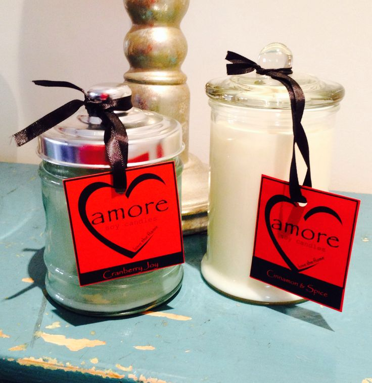 Amore Soy Candles