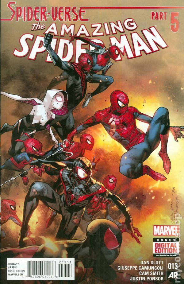 Marvel Comics (2015) Amazing Spider-man # 13 Regular Cover NM