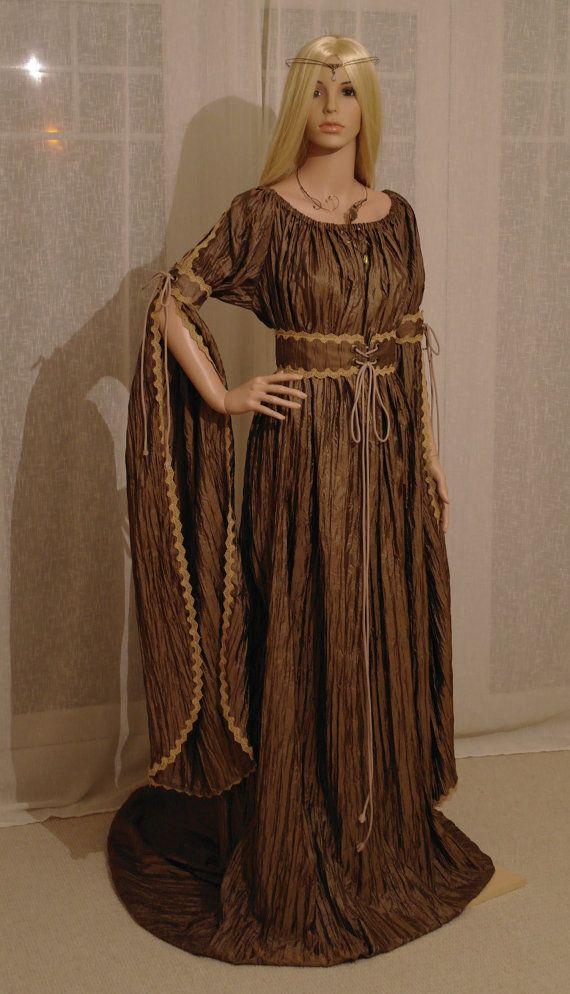 medieval dress renaissance dress ELVEN dress by camelotcostumes