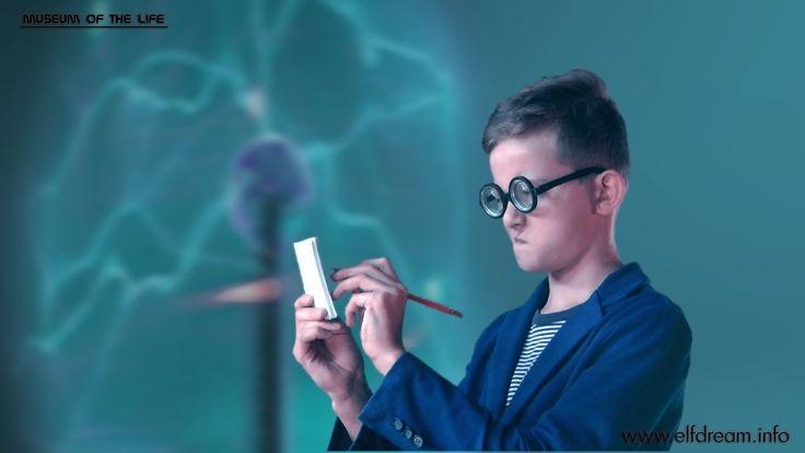 students film - Adam as Prof. Science Manipula Torovič