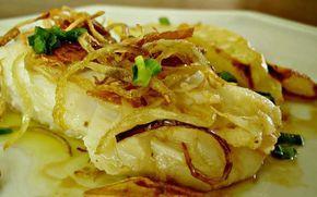 #Bacalhau a Provençal com Batatas ao Forno