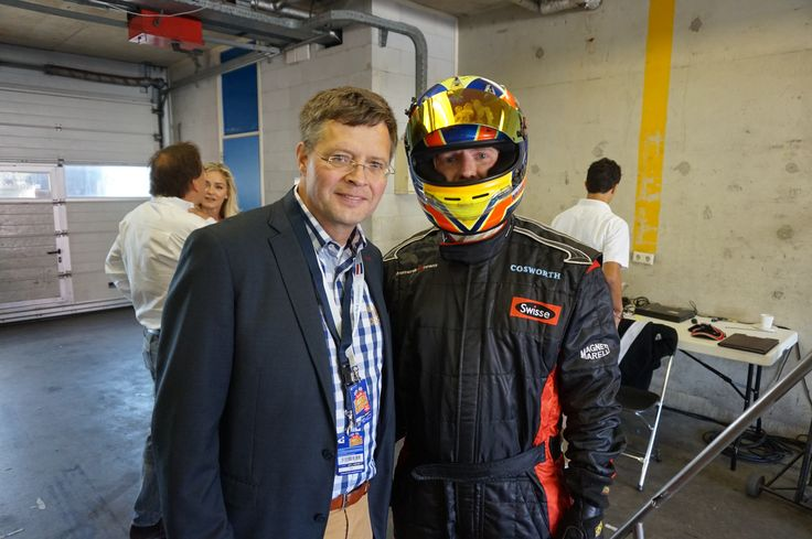 Charming picture with the former Prime Minister of the Netherlands; Jan Peter Balkenende at the  Jumbo Racedays by Max Verstappen #Racedagen #RedBull #Rbr #CircuitZandvoort #Jumbo #F1