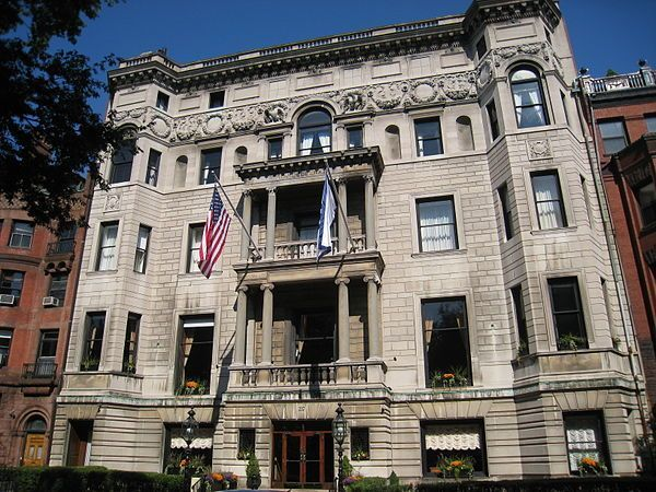 Algonquin Club of Boston is a private social club in Boston, Massachusetts, founded in 1886.