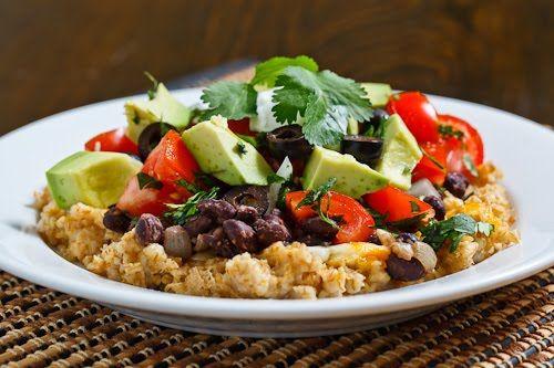 Oatmeal Burrito Bowl: Oatmeal Burritos, Dinners Recipes, Bowls Recipes, Burrito Bowls, Tasti Recipes, Healthy Eating, Healthy Burritos, Healthy Food, Burritos Bowls