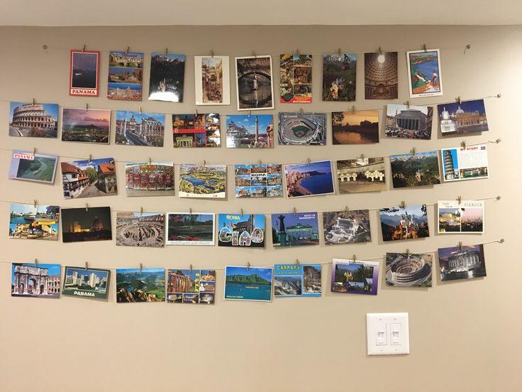 Postcard display!