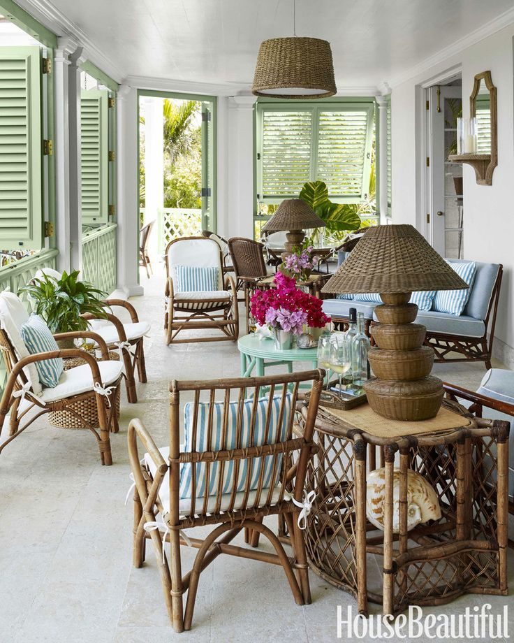 Light and Airy Bahamas House - Amanda Lindroth Bahamas House - House Beautiful