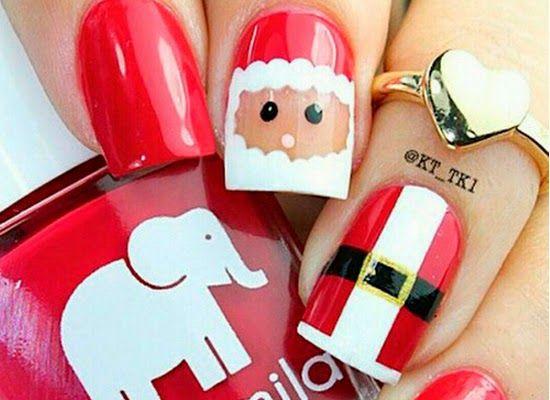 10 Inspirações de unhas decoradas para o Natal