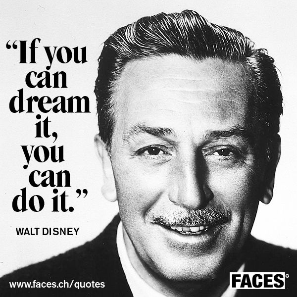 "[WALT DISNEY] I find Walt Disney so inspirational, he was fired by a newspaper editor because, ""he lacked imagination and had no good ideas."" but that didn't stop him. He is the man behind one of my all time favourite brands. #SWSHAREYOURLIFE"