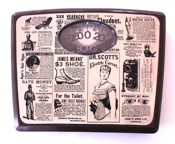 Borg Bathroom Scale Vintage Late 60s Retro Mod Mid By Uptownfound 19 99 Laundry Pinterest Scales And