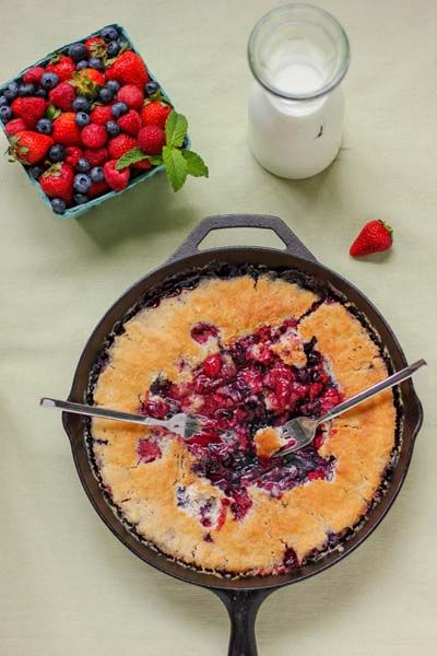 A CUP OF JO: The Best Berry Cobbler You'll Ever Have