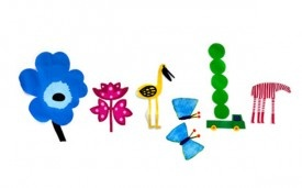 Google Doodle Celebrates the Coming of Spring: Google Logos, Spring Equinox, Happy Spring, Bold Prints, Springequinox, Google Doodles, Spring, Marimekko, First Day