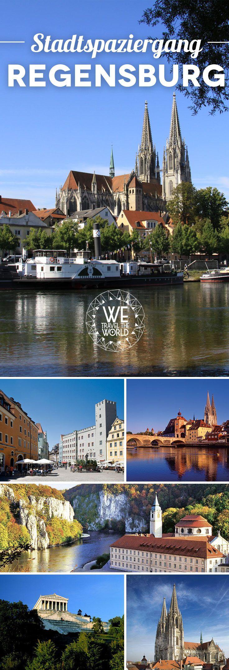 Entdecke alle Regensburg Sehenswürdigkeiten auf einem Stadtspaziergang!