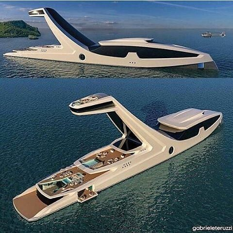 TAG your travel partner  Insane $150M super yacht  credits: @gabrieleteruzzi | #livealuxurylife