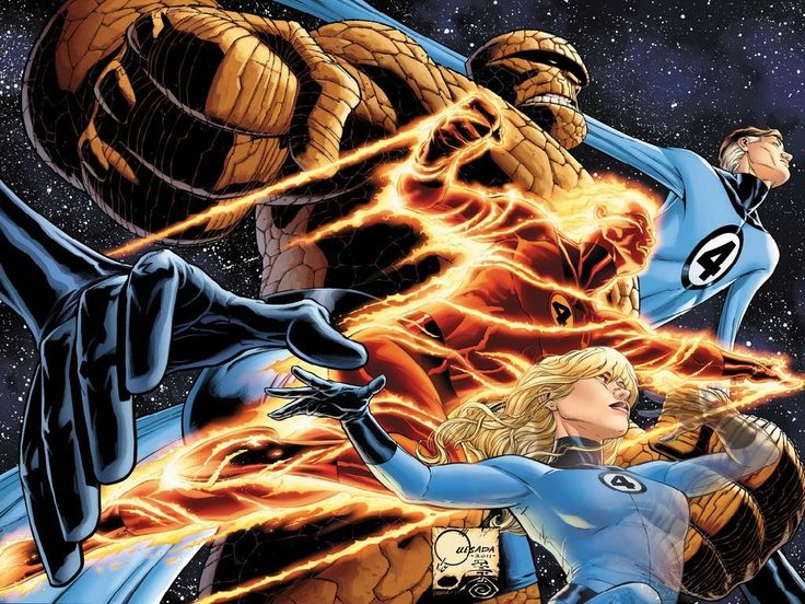 Fantastic Four Wallpaper Hd Superhelden Slechterik Hoeden