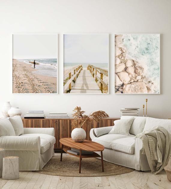 Classy Beach Wall Decor Ideas With Images Beach Themed Bedroom