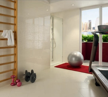 COVERINGS 2013 - contemporary - home gym