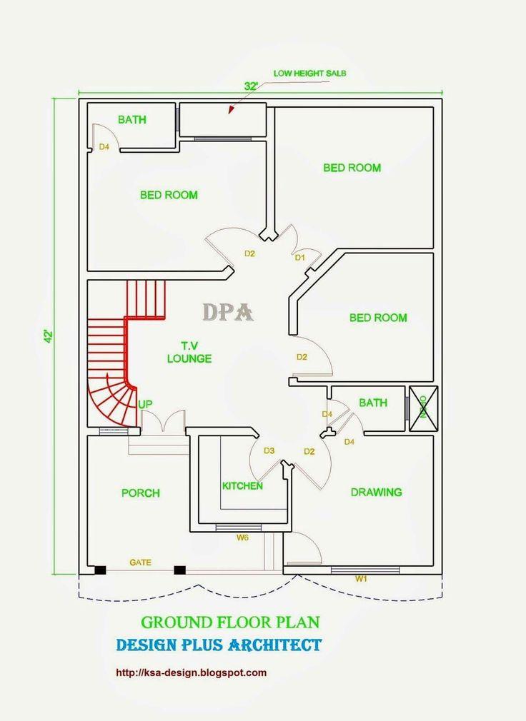 13 best 25x45 house plan elevation drawings map naksha images on ...