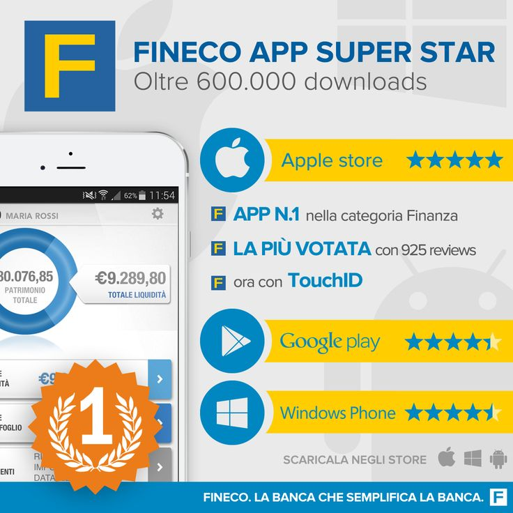 Fineco App...Super Star.