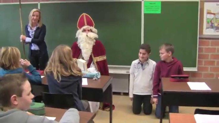 Sinterklaas op bezoek 2014 - Spectrumcollege Middenschool Sint-Jan Beringen