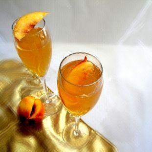 Peach Bellini - my personal favorite!http://www.italian-dessert ...