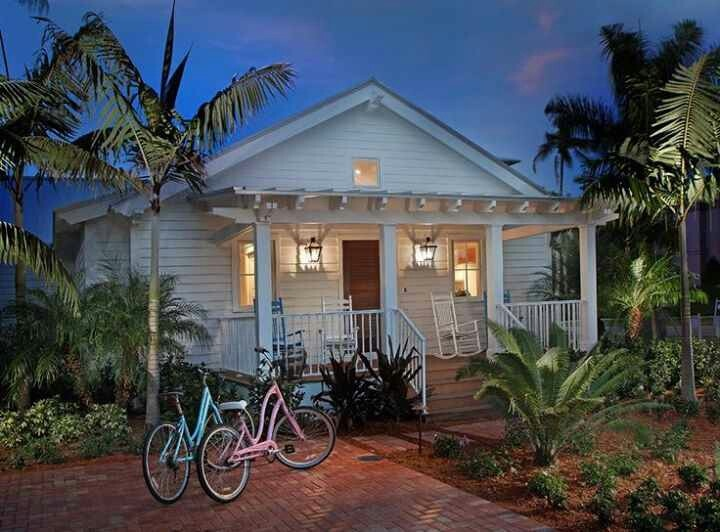 West Palm Beach Bungalow Dream Home Pinterest Cottages
