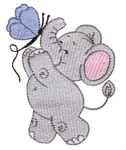 Embroidery | Free Machine Embroidery Designs | Bunnycup Embroidery | Little Nellie