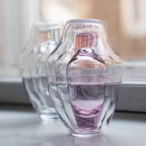 Babushka-lasisto kirkas / pinkkisydän – Nord design
