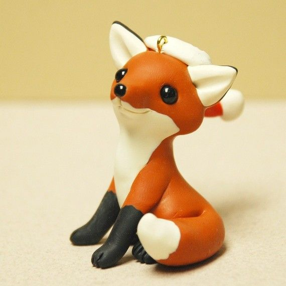for my little man, the fox, for christmas. Maybe I do like poly clay after all?