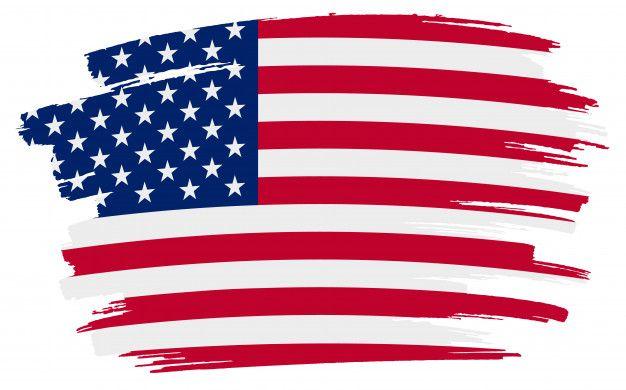 Pincelada Bandera Americana Vector Premi Premium Vector Freepik Vector Arte De La Bandera Americana Bandera Americana Independencia De Estados Unidos