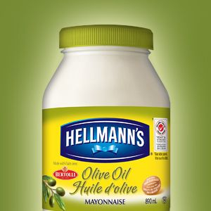 HELLMANN'S WITH OLIVE OIL - a great choice to have
