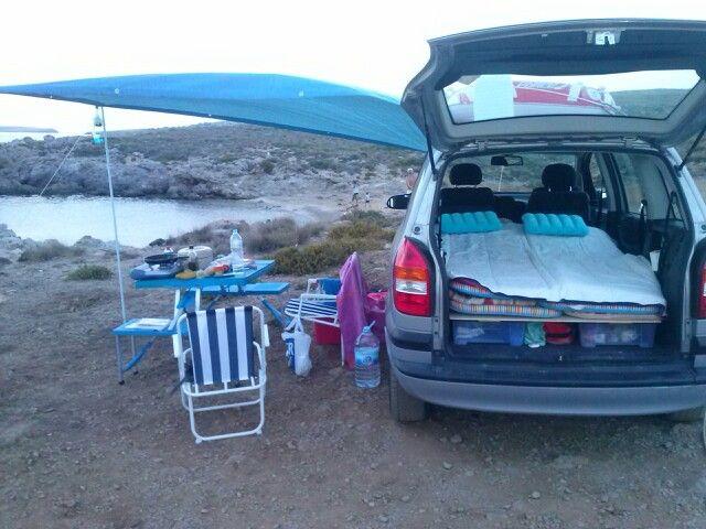camping  opel zafira camping pinterest camping