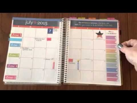 FlyLady Control Journal in my Erin Condren On The Go Notebook