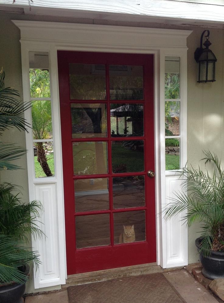163 Best Front Door Trim Moulding Images On Pinterest Front Doors Windows And Exterior Homes